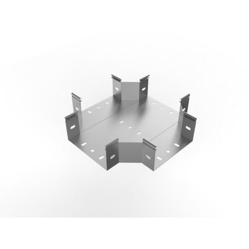 Х-образное соединение кабельного лотка, замкового типа 300 х 60